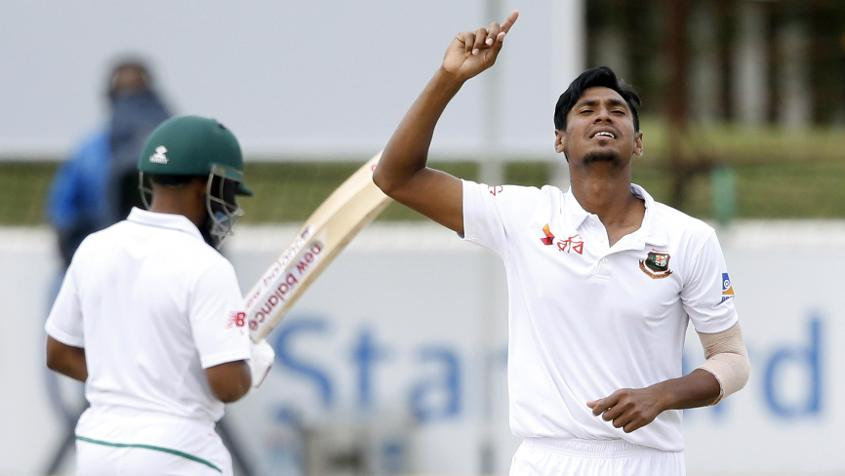 Mustafizur Rahman returns to the Test set-up after a long gap of eight months
