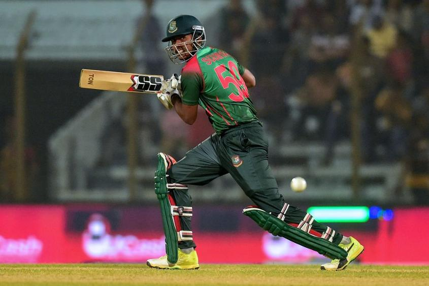 Soumya Sarkar batted beautifully on his return to the Bangladesh side