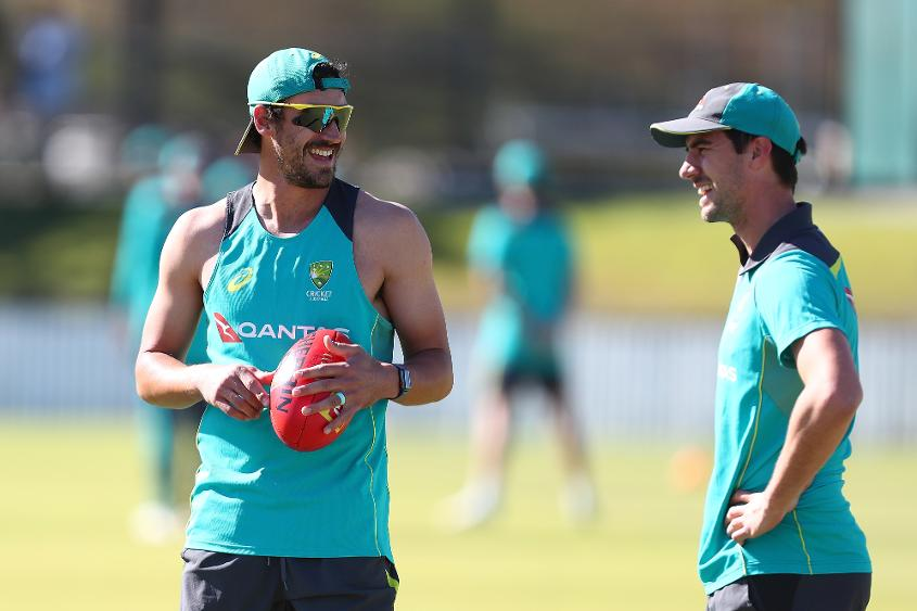 Starc, Cummins and Hazlewood will complete Australia's pace battery