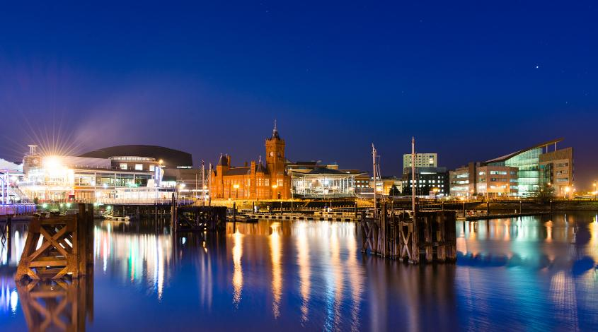 Cardiff Bay houses some of the city's most culturally significant and beautiful buildings