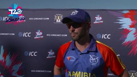ICC WT20 Africa C Qualifier 2018: Namibia Captain interview