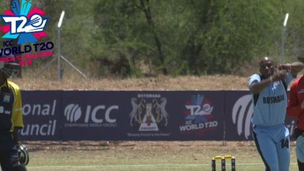 ICC WT20 Africa C Qualifier 2018: Botswana's M Mooketsi takes 2 for 7 off 3 overs