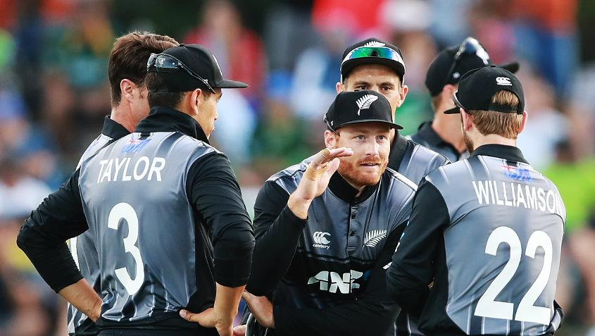 New Zealand will be without Martin Guptill, Trent Boult and Mitchell Santner