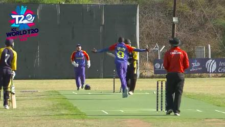 ICC Men's World T20 Africa Region Qualifier C: Interview with Namibia's Tangeni Lungameni, who picked up a hat-trick against Mozambique