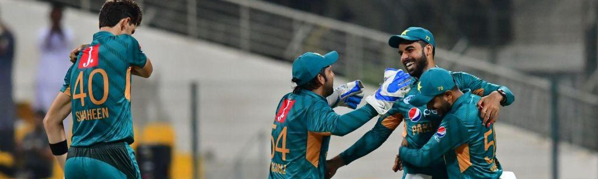 Pakistan win first T20I
