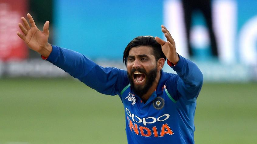 Jadeja picked up four wickets for India