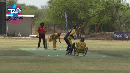 ICC Men's World T20 Africa Region Qualifier C – St. Helena  v Mozambique highlights