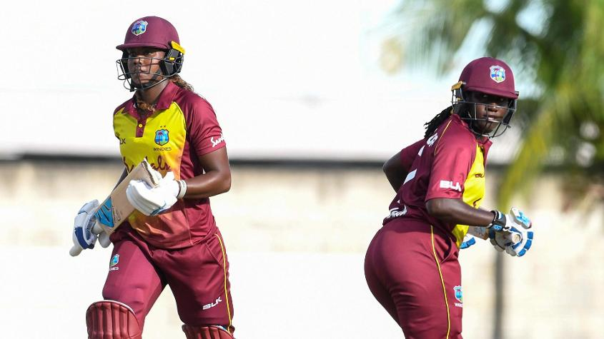 Stafanie Taylor rose to No.1 on the all-rounders chart, ahead of Hayley Matthew