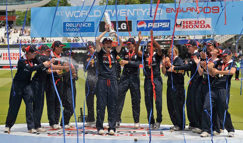 England claimed the inaugural Women's World T20 title