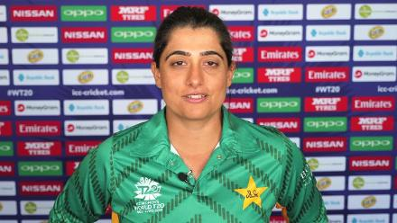 Sana Mir on what it means to reach number one in the MRF Tyres ICC Women's ODI Bowling Rankings