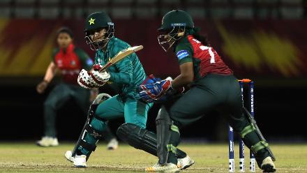 Bangladesh Women v Pakistan Women, ICC Women's World Twenty20 Warm-up Matches at Providence, Nov 6 2018
