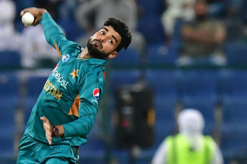 Shadab Khan returned figures of 4/38 in his 10-over spell