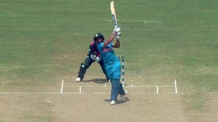 NZ v IND - Harmanpreet Kaur hits historic hundred