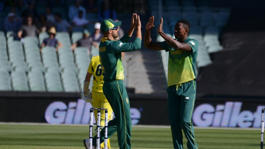 Kagiso Rabada picked up four wickets in the match