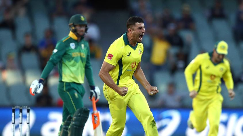 Stoinis dismissed Klaasen to reduce South Africa to 68/4