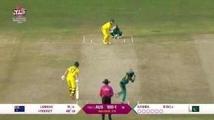 Aus v Pak - Australia Innings highlights