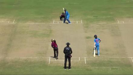 NZ v IND: Hemalatha falls to Kasperek