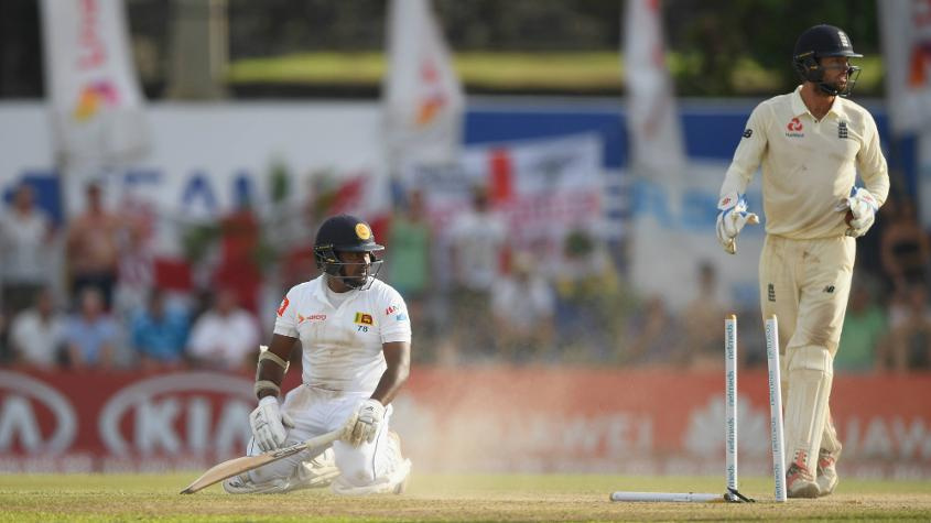 It didn't end too happily for Herath – last man out for Sri Lanka as England won by 211 runs