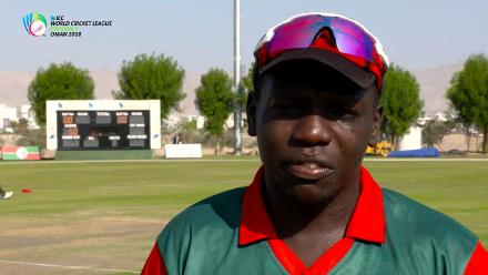 WCL Div 3 – Kenya captain Shem Ngoche speaks before game against Oman