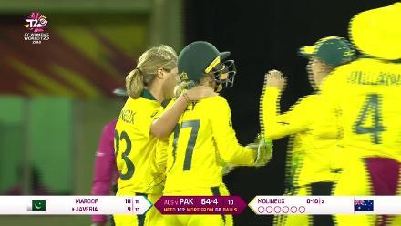 Aus v Pak: Alyssa Healy innings – 48 off 29b