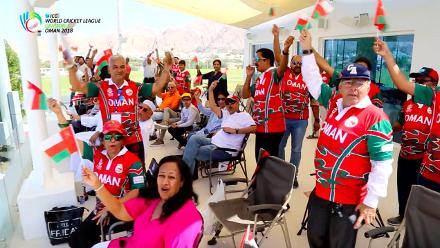 WCL Div 3 – Catching up with Oman fans