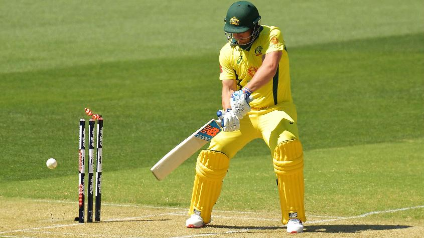 Aaron Finch hasn't been in the best of form