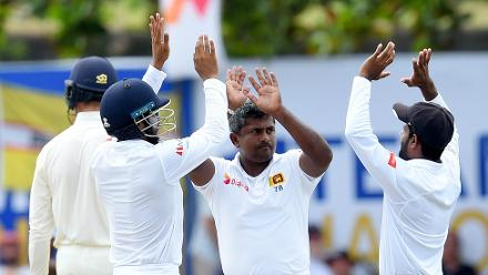 There were a couple of wickets in the second innings too, as Herath finished with 433 strikes against his name