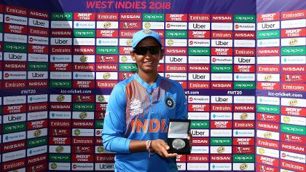India v New Zealand, 1st Match, Group B, ICC Women's World T20 at Providence, Nov 9 2018