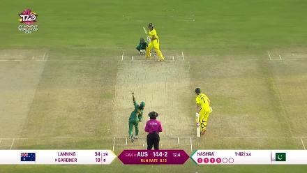 Aus v Pak: Australia wickets highlights