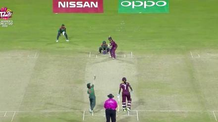 WT20 Match 3: Highlights from Windies innings against Bangladesh
