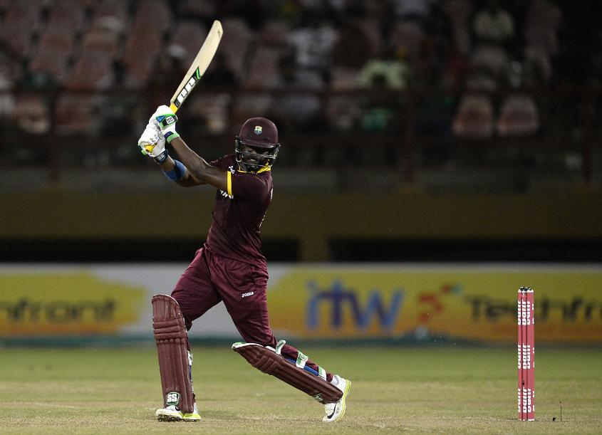 Darren Bravo went unbeaten in a strong batting display