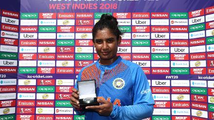 India v Pakistan, 5th Match, Group B, ICC Women's World T20 at Providence, Nov 11 2018.