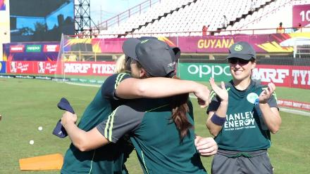 AUS v IRE: Kim Garth presented her 100th cap for Ireland
