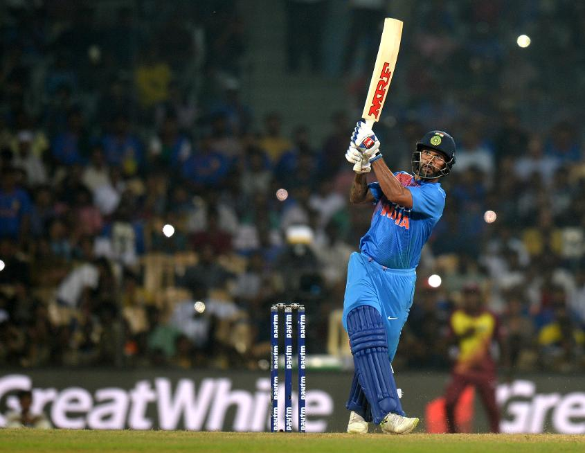 Shikhar Dhawan struck a brilliant 92