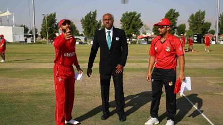6th Match, Denmark v Singapore, ICC World Cricket League Division Three at Al Amarat, Nov 12 2018