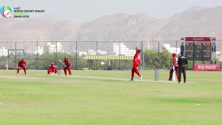 WCL Div 3 – Aritra Dutta of Singapore hits half-century against Denmark