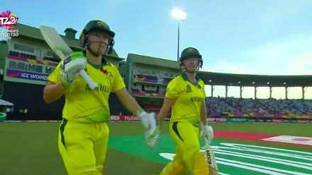 AUS v IRE: Australia innings highlights