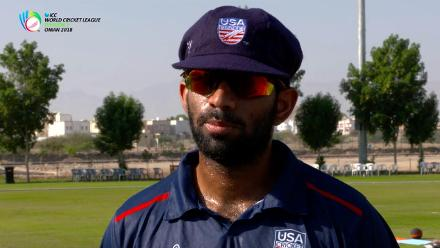WCL Div 3 – USA captain Saurabh Netravalkar speaks before game against Kenya