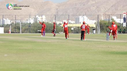 WCL Div 3 – AE Paraam of Singapore is run-out by a direct hit