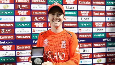 Bangladesh v England, 7th Match, Group A, ICC Women's World T20 at St Lucia, Nov 12 2018.