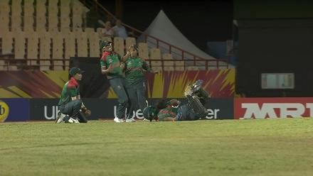 ENG v BAN: Shamima Sultana injured