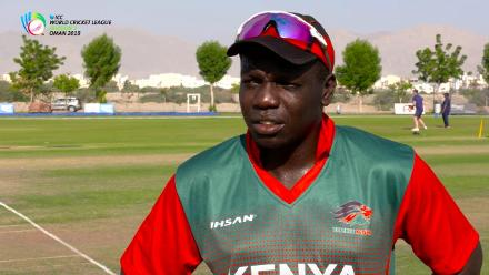 WCL Div 3 – Kenya captain Shem Ngoche speaks before game against USA