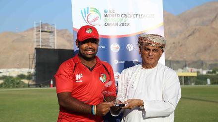 6th Match, Denmark v Singapore, ICC World Cricket League Division Three at Al Amarat, Nov 12 2018