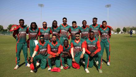5th Match, USA v Kenya, ICC World Cricket League Division Three at Al Amarat, Nov 12 2018