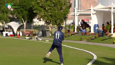 WCL Div 3 - USA's Patel takes a good catch against Kenya