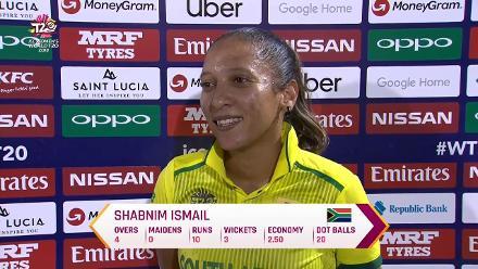 SL v SA: Shabnim Ismail interview