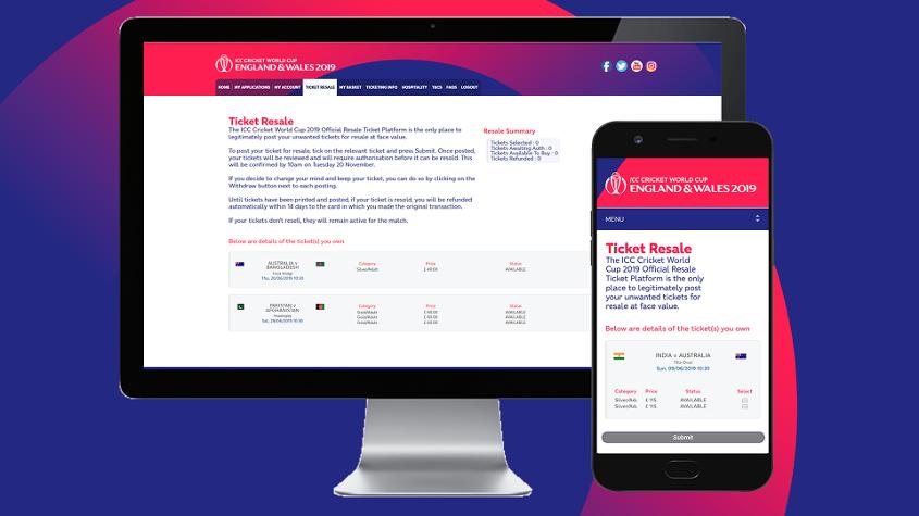 Official Resale Ticket Platform