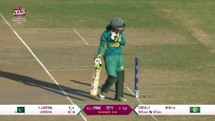 PAK v IRE: Analyis of Lucy O'Reilly's bowling action