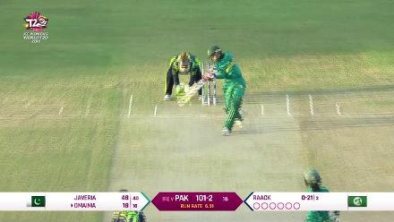 PAK v IRE: Pakistan innings highlights