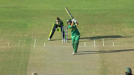 PAK v IRE: Nahida Khan finds the hands of Lewis off Metcalfe